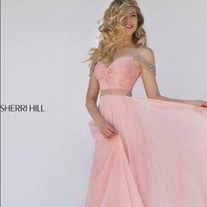Sherri Hill Prom dress pink!